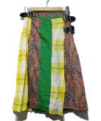ONEIL OF DUBLIN(オニール オブ ダブリン)の古着「リバティコンビスカート」 マルチカラー