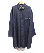 MM6(エムエムシックス)の古着「オーバーサイズデニムシャツ」