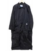 CAPE HEIGHTS(ケープハイツ)の古着「ステンカラーコート」|ブラック