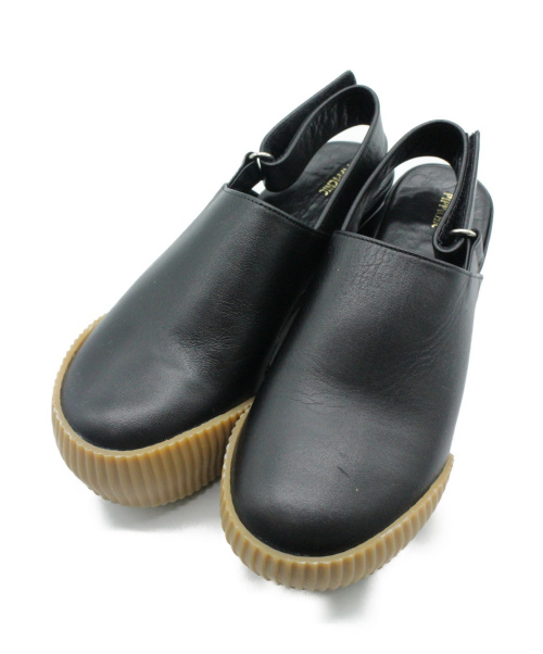 Pippichic(ピッピシック)Pippichic (ピッピシック) サボサンダル ブラック サイズ:SIZE S 参考価格¥45.360程度の古着・服飾アイテム