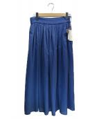 自由区(ジユウク)の古着「フレアスカート」|ブルー