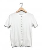 agnes b.(アニエスベー)の古着「半袖カーディガン」 ホワイト