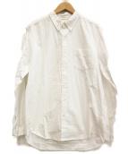 DESCENDANT(ディセンダント)の古着「ボタンダウンシャツ」|ホワイト