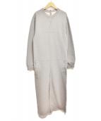 MM6(エムエムシックス)の古着「ジャージージャンプスーツ」|グレー