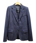 Maison Margiela(メゾンマルジェラ)の古着「デニムテーラードジャケット」|ネイビー