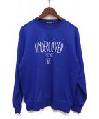 UNDERCOVER(アンダーカバー)の古着「TOKYO LOGO SWEAT」|ブルー