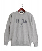 UNDER COVER(アンダーカバー)の古着「ロゴプリントスウェット」 グレー