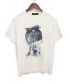 UNDERCOVERISM(アンダーカバイズム)の古着「ストロベリープリントTシャツ」 ホワイト