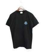 DENIM BY VANQUISH&FRAGMENT(デニムバイ バンキッシュアンドフラグメント)の古着「プリントTシャツ」 ブラック