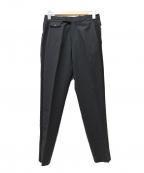 DIESEL Black Gold()の古着「サイドラインセンタープレスパンツ」|ブラック