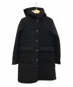 MACKINTOSH(マッキントッシュ)の古着「キルティングフードコート」 ブラック