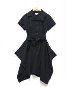 Vivienne Westwood RED LABEL(ヴィヴィアンウエストウッド レッドレーベル)の古着「シャツワンピース」|ブラック