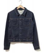 YANUK(ヤヌーク)の古着「デニットジャケット」 インディゴ