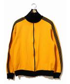 adidas(アディダス)の古着「トラックジャケット」|オレンジ