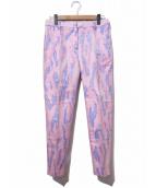 3.1 phillip lim(スリーワン・フィリップ・リム)の古着「総柄カラーパンツ」|ピンク