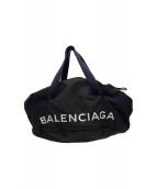 BALENCIAGA(バレンシアガ)の古着「ボストンバッグ」|ブラック