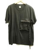 SASQUATCHfabrix.(ザスクワッチファブリックス)の古着「ポケットTシャツ」|ブラック