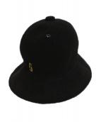 KANGOL × MARC JACOBS(カンゴール × マークジェイコブス)の古着「バケットハット」|ブラック