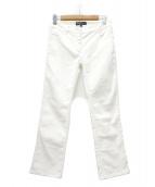 Salvatore Ferragamo(サルヴァトーレ フェラガモ)の古着「パンツ」|ホワイト