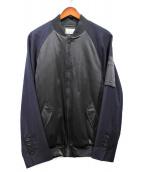 22/4 Homme Fenmme(22/4 オム フェム)の古着「MA-1ジャケット」|ネイビー