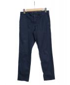 INCOTEX(インコテックス)の古着「藍染めトラウザー」 ネイビー