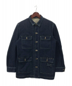 PAPAS(パパス)の古着「デニムジャケット」|インディゴ