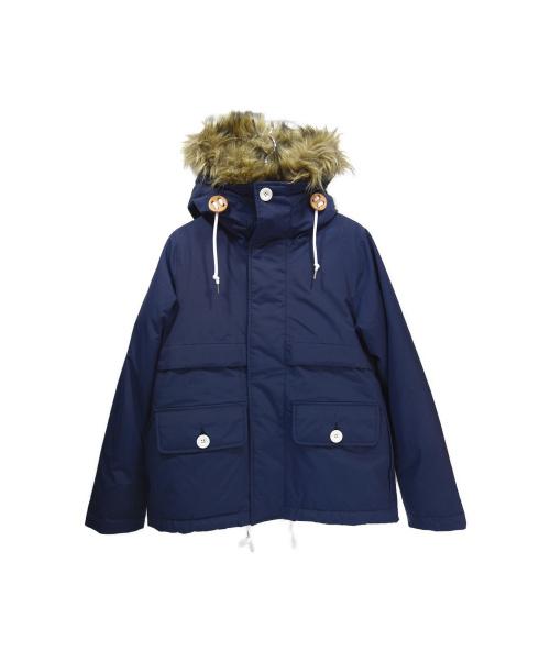 HELLY HANSEN(ヘリーハンセン)HELLY HANSEN (ヘリーハンセン) ダウンジャケット ネイビー サイズ:WS 未使用品の古着・服飾アイテム