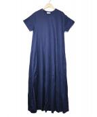 HAUNT(ハウント)の古着「JERSEY FLARE DRESS」|ネイビー