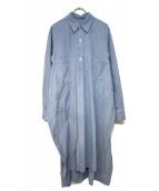 LIMI feu(リミフゥ)の古着「シャンブレーロングシャツ」