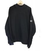 C.P COMPANY(シーピーカンパニー)の古着「プルオーバーパーカー」|ブラック