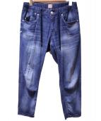 YANUK(ヤヌーク)の古着「リゾートジーンズ」|インディゴ