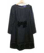 MS GRACY(エムズグレイシー)の古着「ワンピース」 ブラック