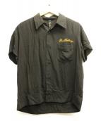 RUDE GALLERY(ルードギャラリー)の古着「オープンカラーシャツ」|ブラック