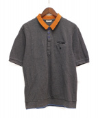 UNDERCOVER(アンダーカバー)の古着「半袖ポロシャツ」|グレー