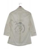 UNDER COVER(アンダーカバー)の古着「バックプリントシャツ」 グレー