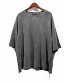 UNDERCOVER(アンダーカバー)の古着「THINK半袖スウェット」|グレー