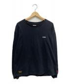 WTAPS(ダブルタップス)の古着「長袖Tシャツ」|ブラック