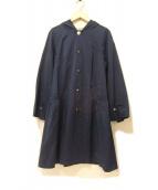 TOCCA(トッカ)の古着「フーデッドライトコート」|ネイビー