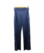 adidas by stella McCartney(アディダスバイステラマッカトニ)の古着「ロゴライントラックパンツ」|ネイビー