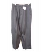 SISE(シセ)の古着「WOOL CROPPED PANTS」 ブラック