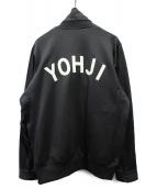 Y-3(ワイスリー)の古着「M YOHJI LETTERS TRACK JACKET」|ブラック