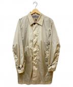 Sealup()の古着「ステンカラーコート」|ベージュ