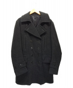 SCYE(サイ)の古着「Pコート」 チャコールグレー