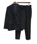 MENS BIGI(メンズビギ)の古着「2Bスーツ」|ブラック