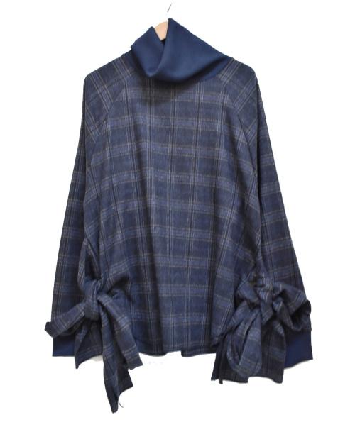 elephant TRIBAL fabrics(エレファントトライバルファブリックス)elephant TRIBAL fabrics (エレファントトライバルファブリックス) 18AW LongCloth Turtleneck ブルー サイズ:下記参照の古着・服飾アイテム
