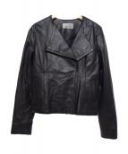 M-PREMIER COUTURE(エムプルミエクチュール)の古着「ラムレザージャケット」|ブラック