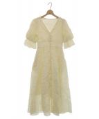 Estella.K(エステラケー)の古着「ミラクルウェーブロングドレス」