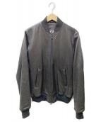 Y-3(ワイスリー)の古着「MA-1ボンバージャケット」|ブラウン