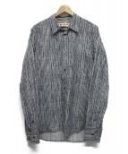 MARNI(マルニ)の古着「総柄シャツ」|ネイビー