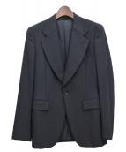 COMME des GARCONS HOMME PLUS(コムデギャルソンオムプリュス)の古着「バックデザインテーラードジャケット」 ブラック